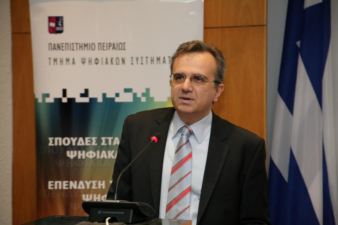 Καθηγητής Παναγιώτης Δεμέστιχας, Πρόεδρος Τμήματος Ψηφιακών Συστημάτων