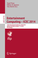 Entertainment Computing - ICEC 2014