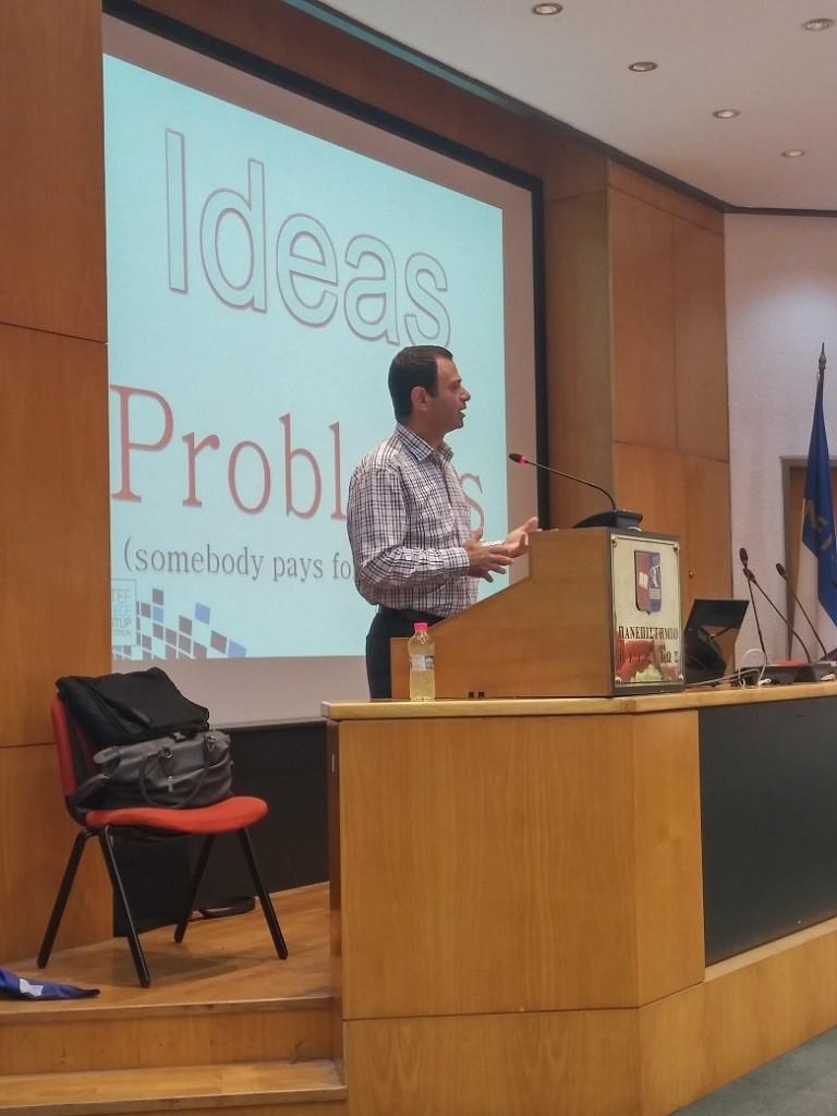 κ. Βασίλης Παπακωνσταντίνου, Πρόεδρος MIT Enterprise Forum Greece